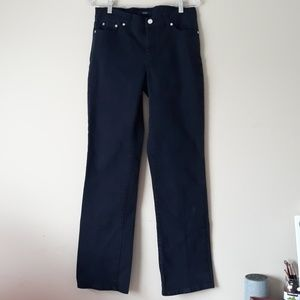 3/$20 Chaps Dark Blue Denim Jeans Size 4